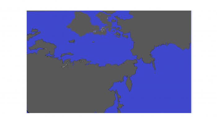 人の手で夏場の北極海の海氷を守る。